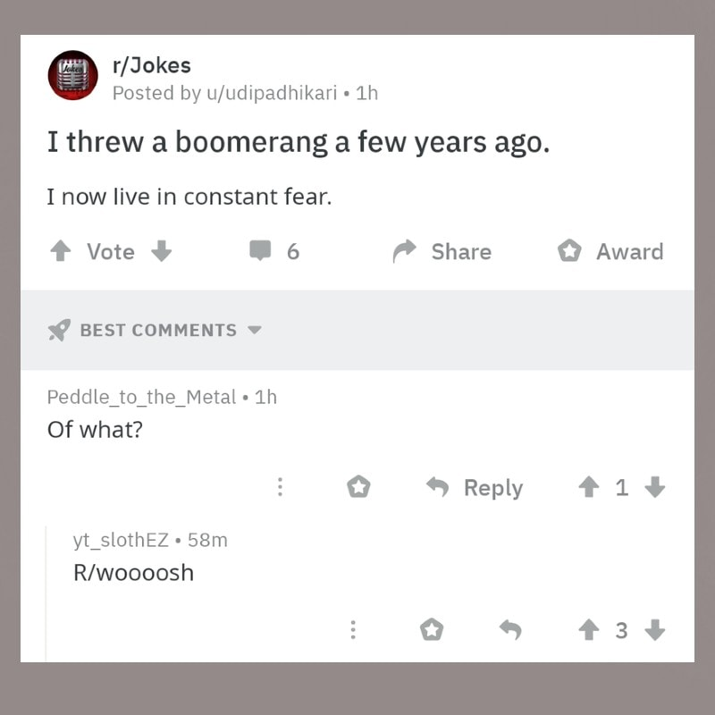 Double woosh