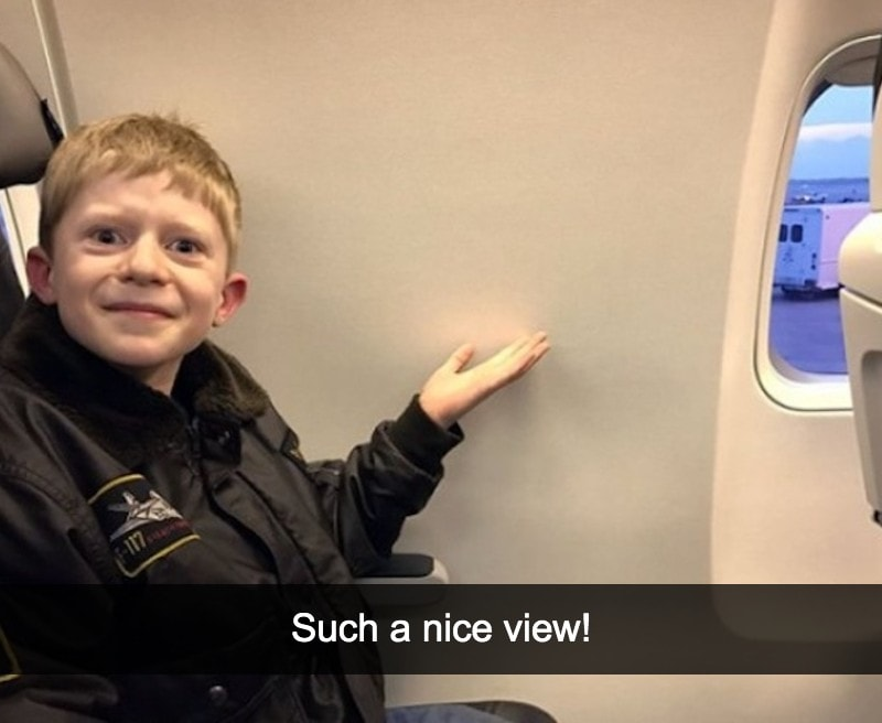 'I can't wait to see the view – oh no'
